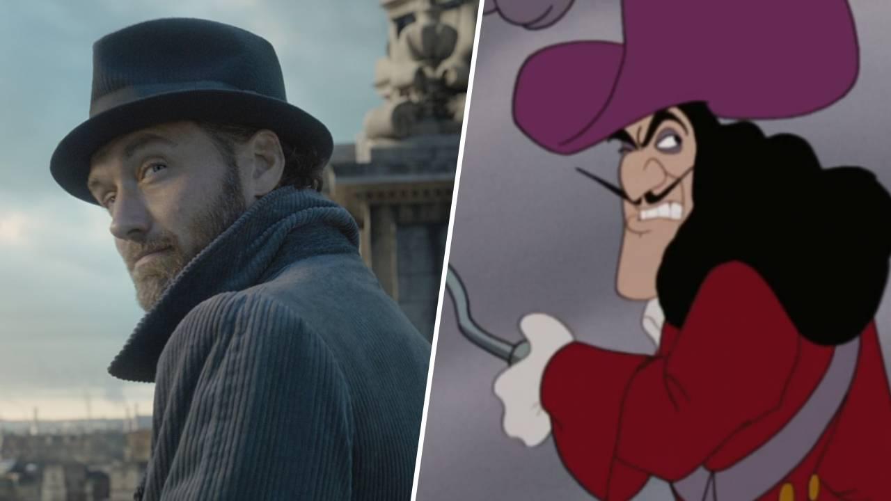 Disney : Jude Law en Capitaine Crochet dans la version live de Peter Pan ?