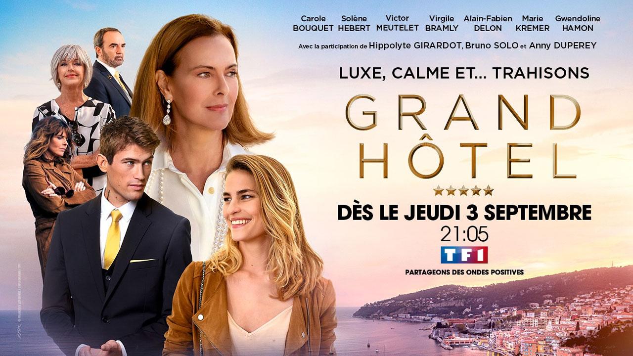 Grand Hôtel (TF1) : une date pour la fiction événement avec Victor Meutelet (Le Bazar de la charité)