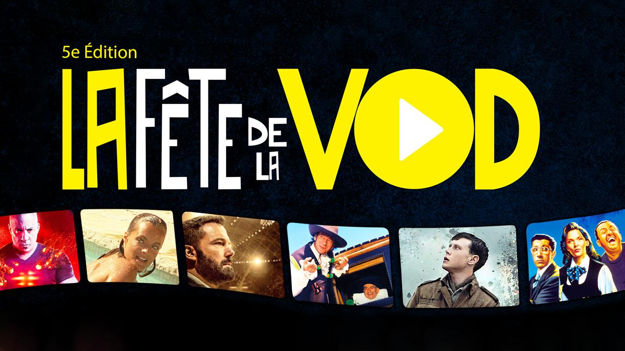 Fête de la VOD 2020 : des films à 2 et 5 euros du 8 au 11 octobre