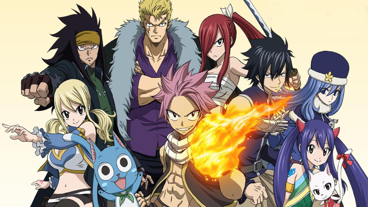 ADN, Wakanim, Crunchyroll : les animés du 30 novembre au 7 décembre : Fairy Tail, Tonikawa...
