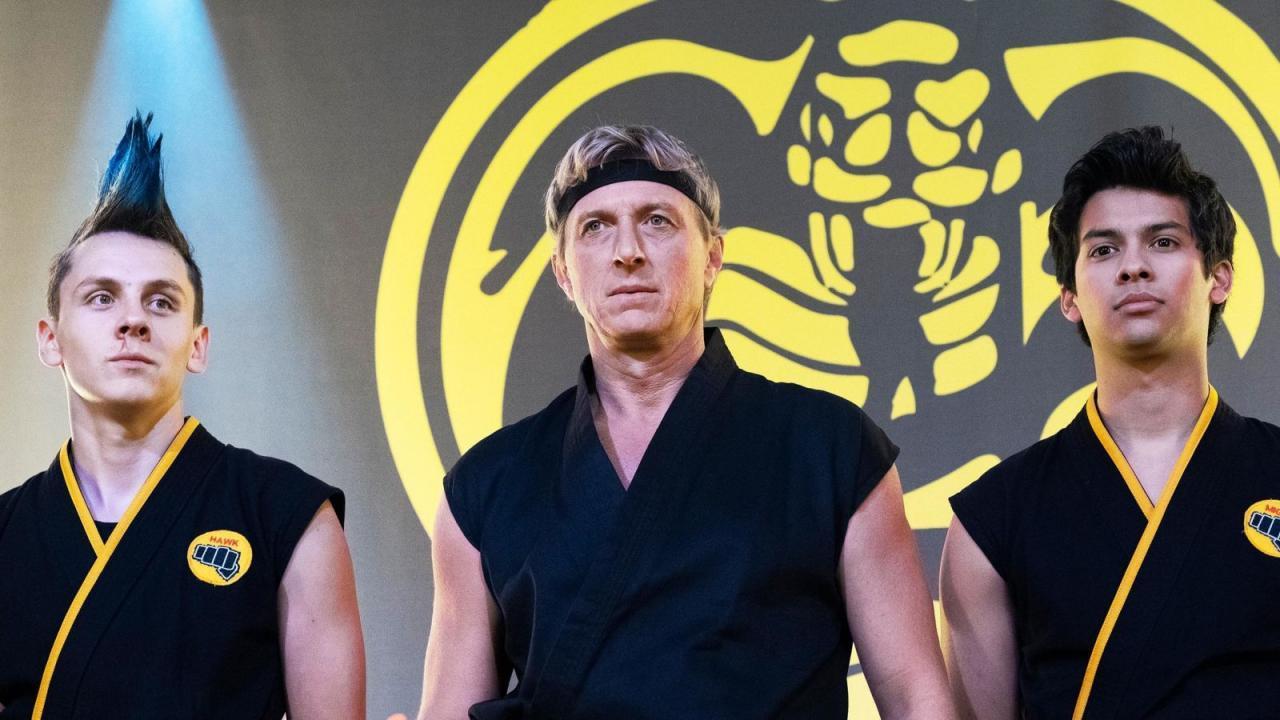Cobra Kai sur Netflix : 20 photos délirantes des coulisses de la série