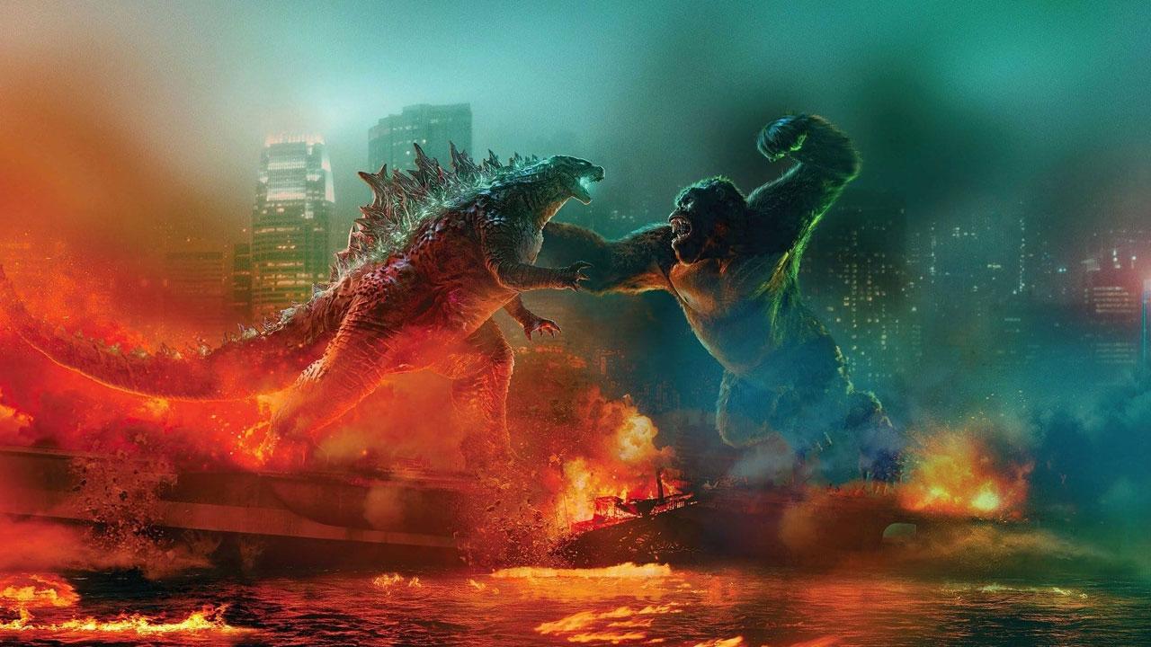 Godzilla vs Kong privé de sortie cinéma