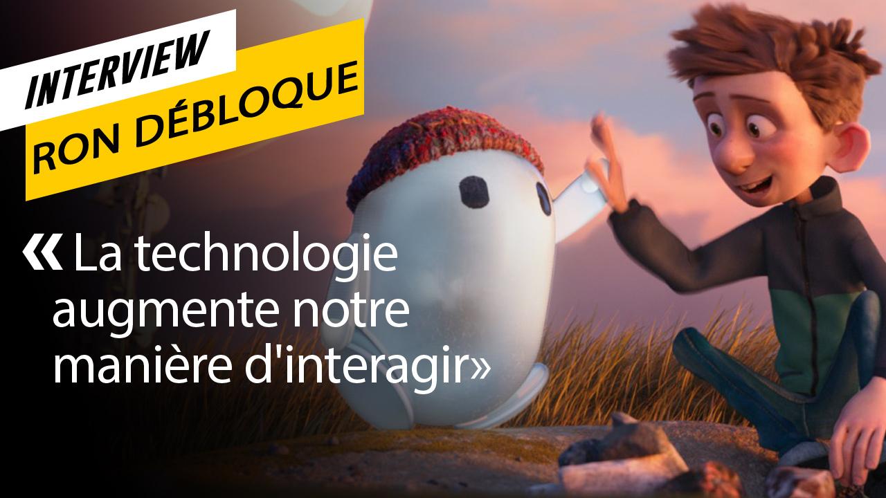 Ron débloque : 3 questions aux réalisateurs du film d'animation connecté