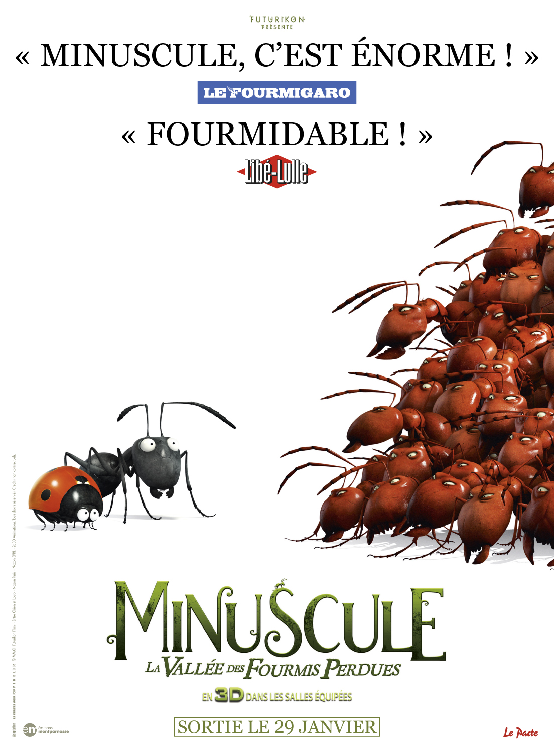 Minuscule – La vallée des fourmis perdues streaming film