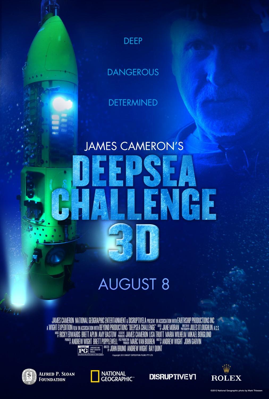 Affiche Du Film Deepsea Challenge 3d L Aventure D Une Vie