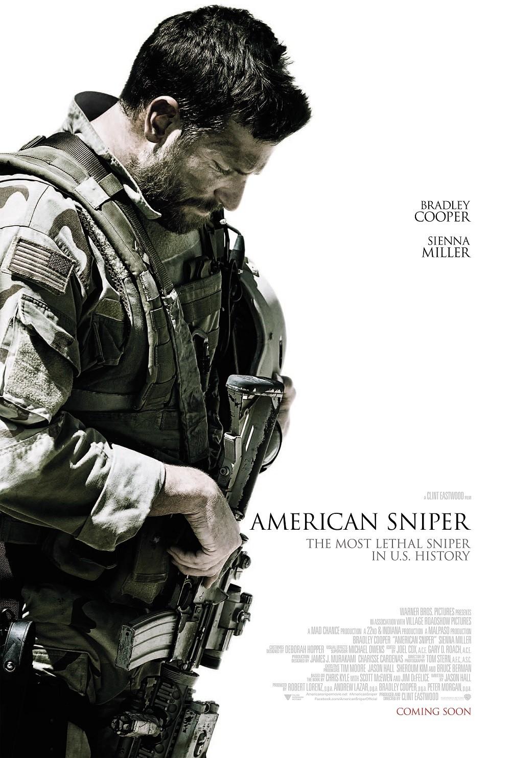 affiche du film american sniper affiche 3 sur 3 allocin. Black Bedroom Furniture Sets. Home Design Ideas