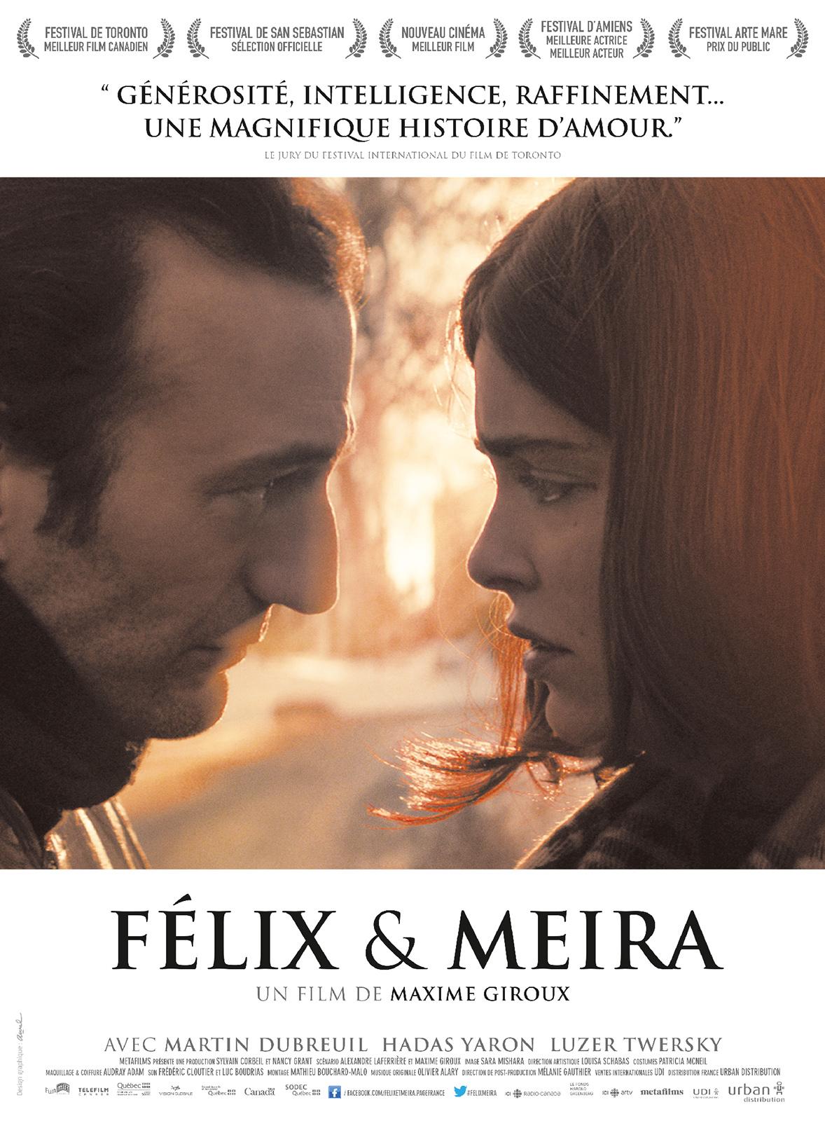 Résultats de recherche d'images pour «felix et meira»