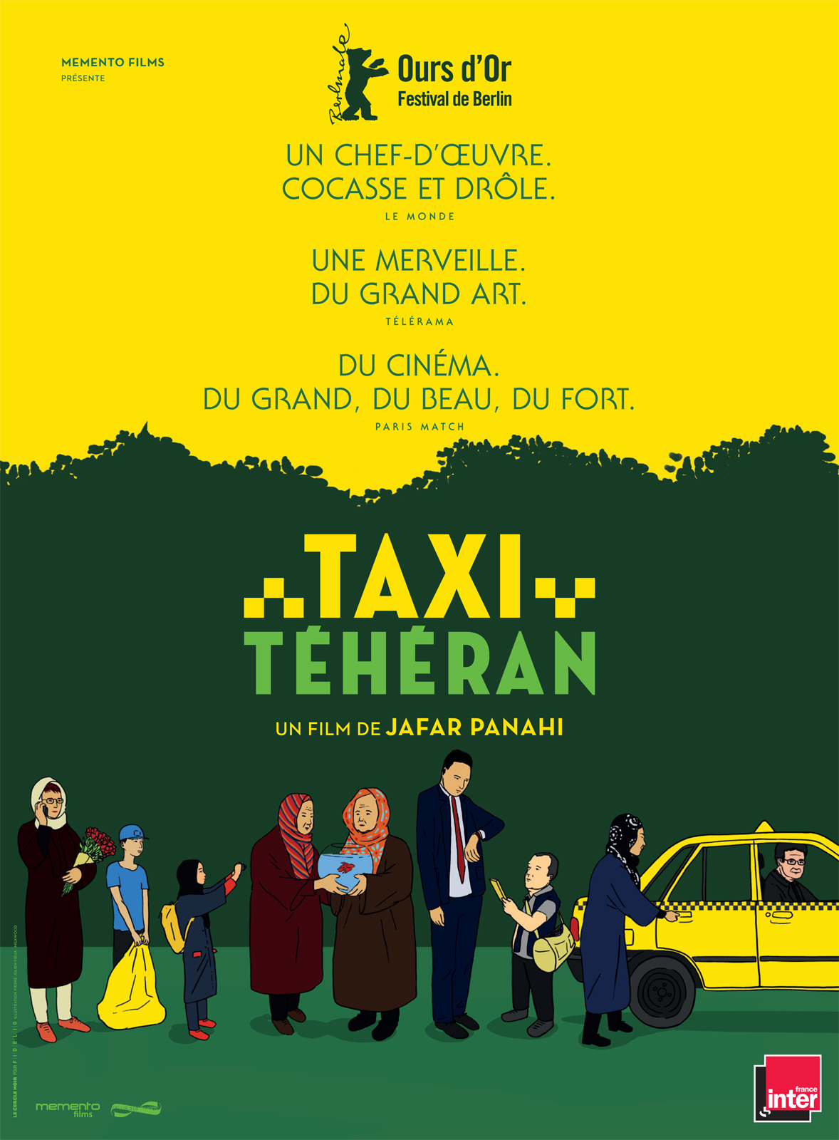 taxi teheran film 2015 allocin. Black Bedroom Furniture Sets. Home Design Ideas