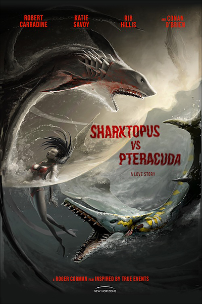 Sharktopus vs. Pteracuda streaming