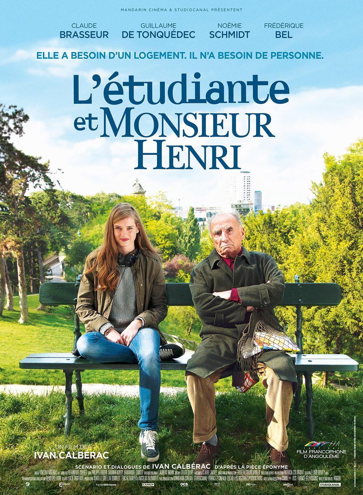 """Résultat de recherche d'images pour """"L'Étudiante et Monsieur Henri"""""""