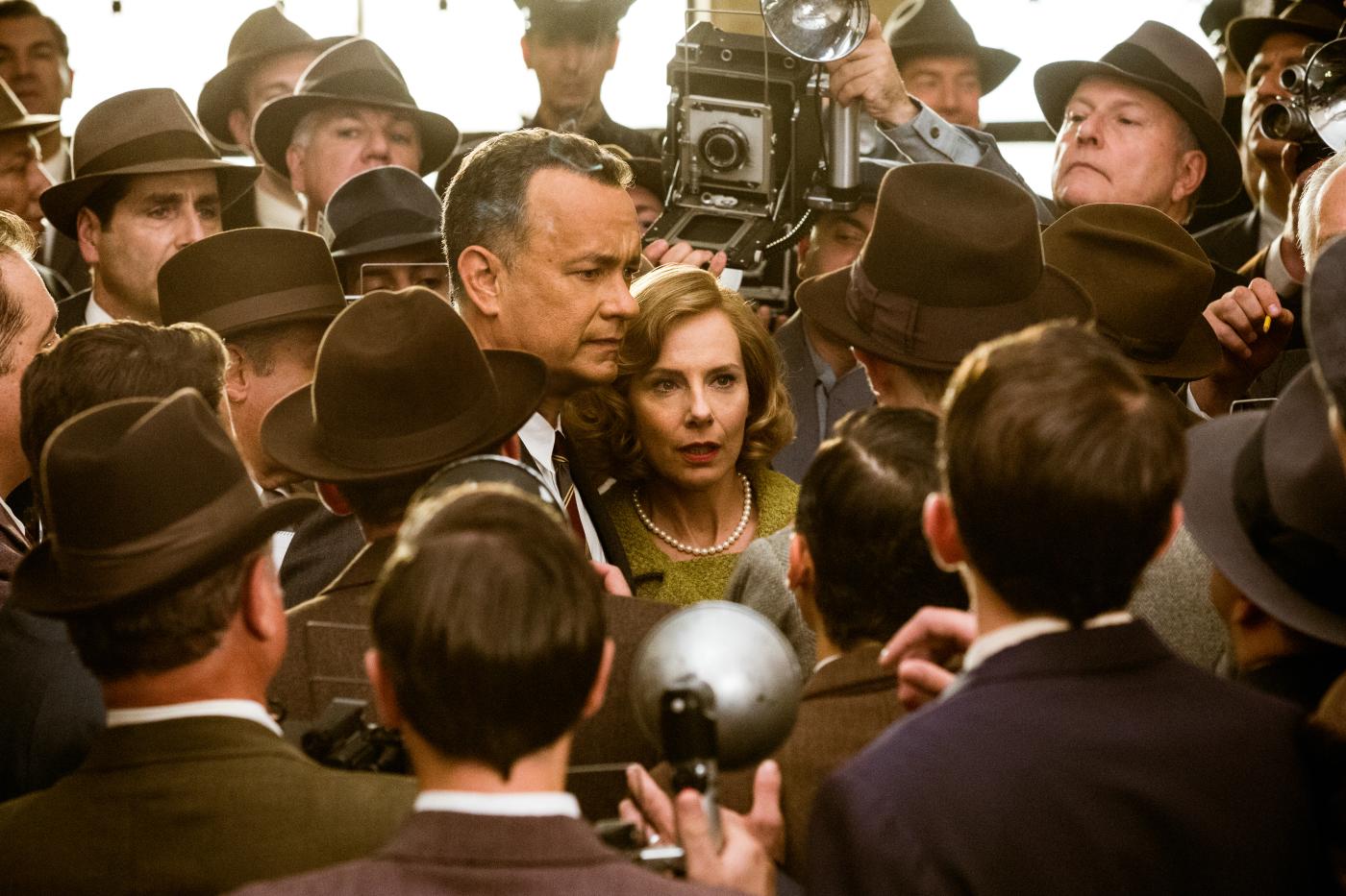 Le Pont des Espions : Photo Amy Ryan, Tom Hanks