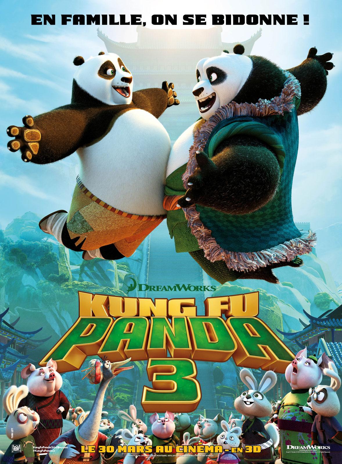 Kung Fu Panda 3 ddl