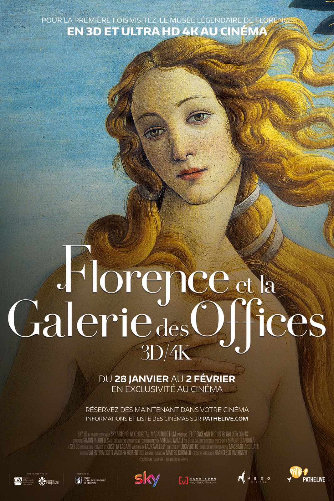 Florence et la galerie des offices 3d film 2015 allocin - La galerie des offices site officiel ...
