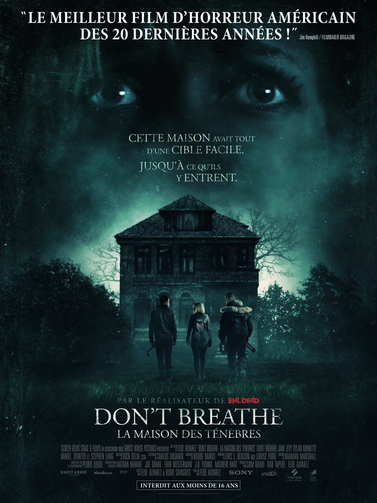 Don't Breathe - La maison des ténèbres streaming