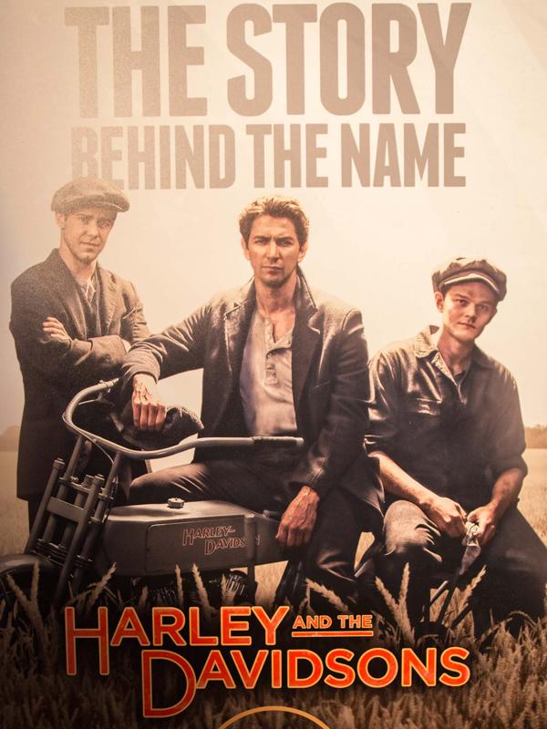 Affiche de la série Harley and the Davidsons