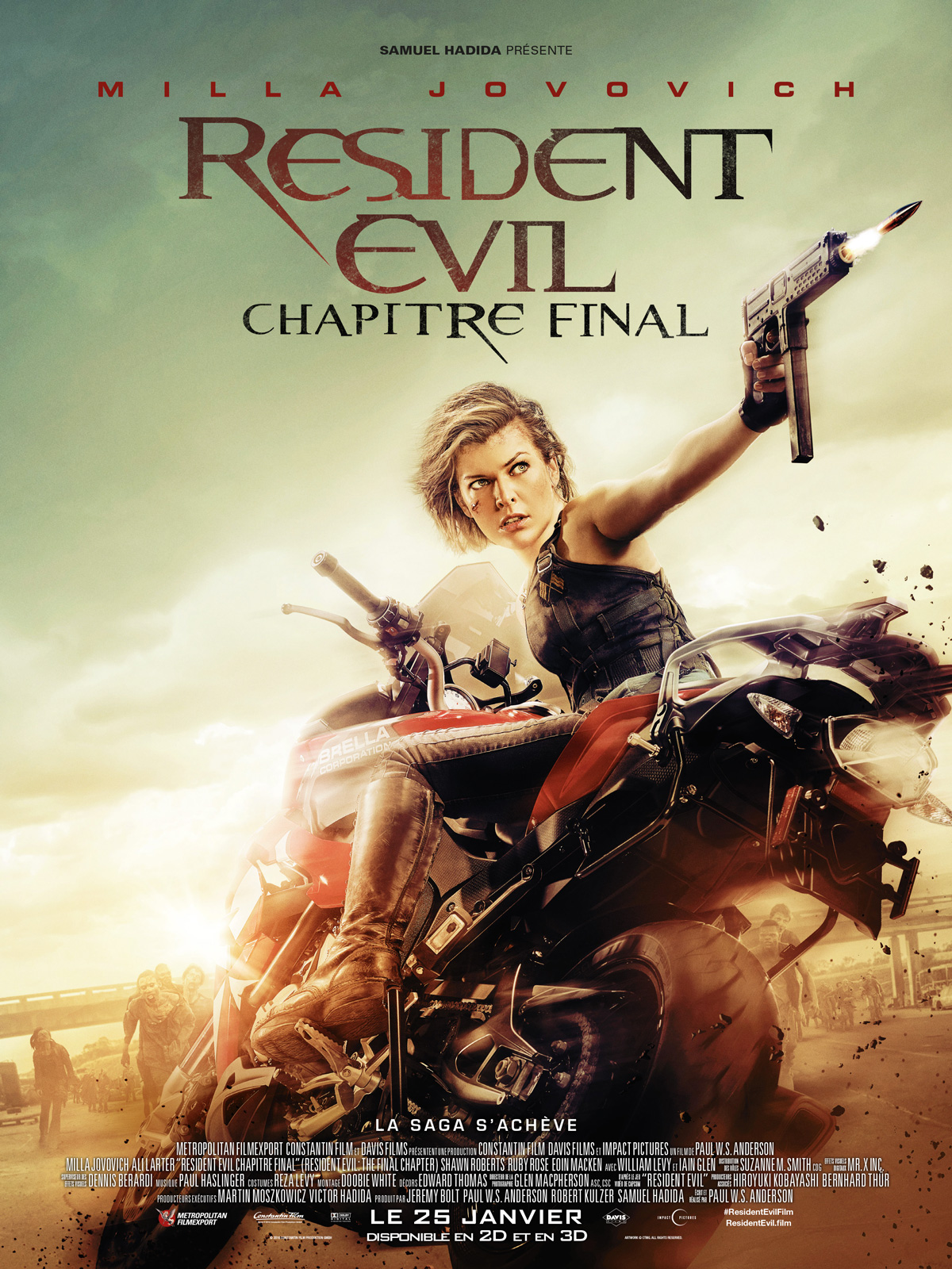 Resident Evil : Chapitre Final streaming
