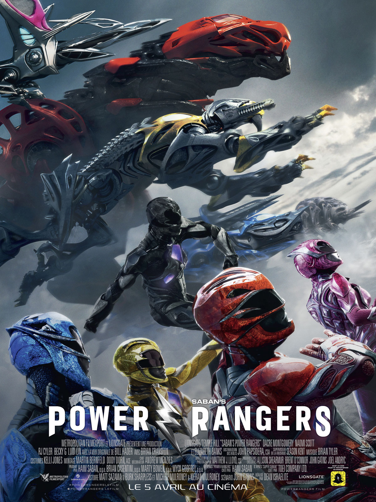 Power Rangers FRENCH HDRip