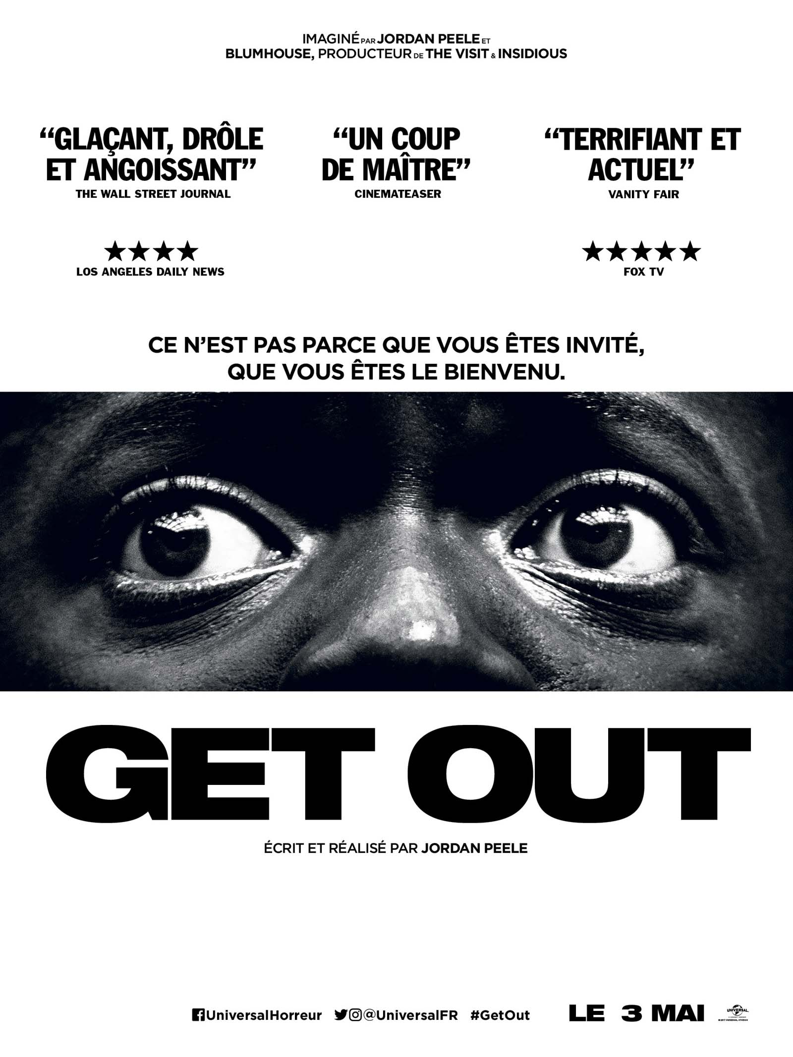 Get out / Jordan Peele, réal., scénario |