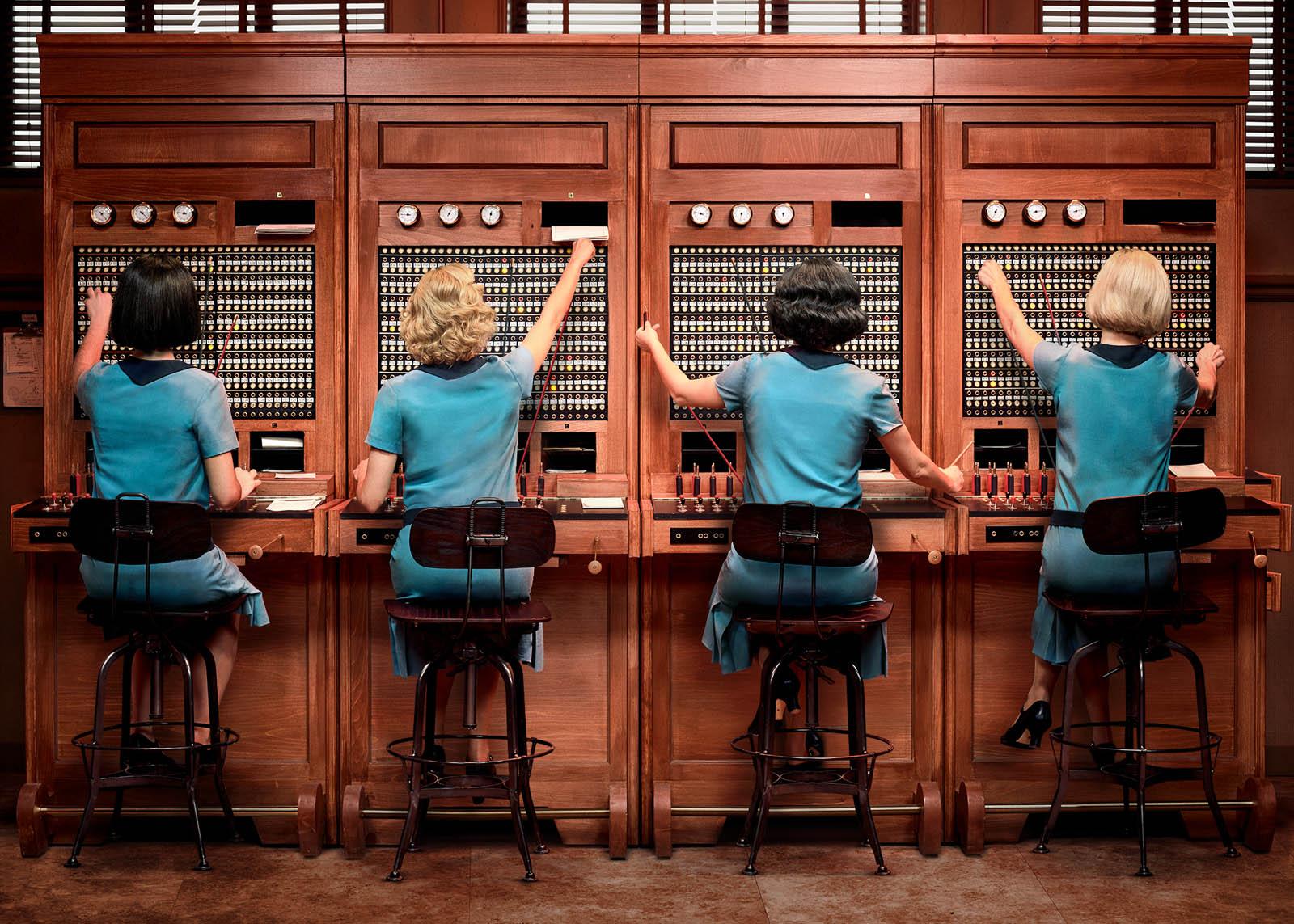 Les demoiselles du téléphone streaming
