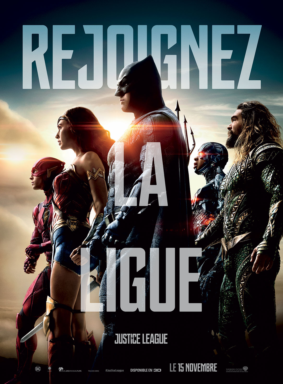 Justice League streaming