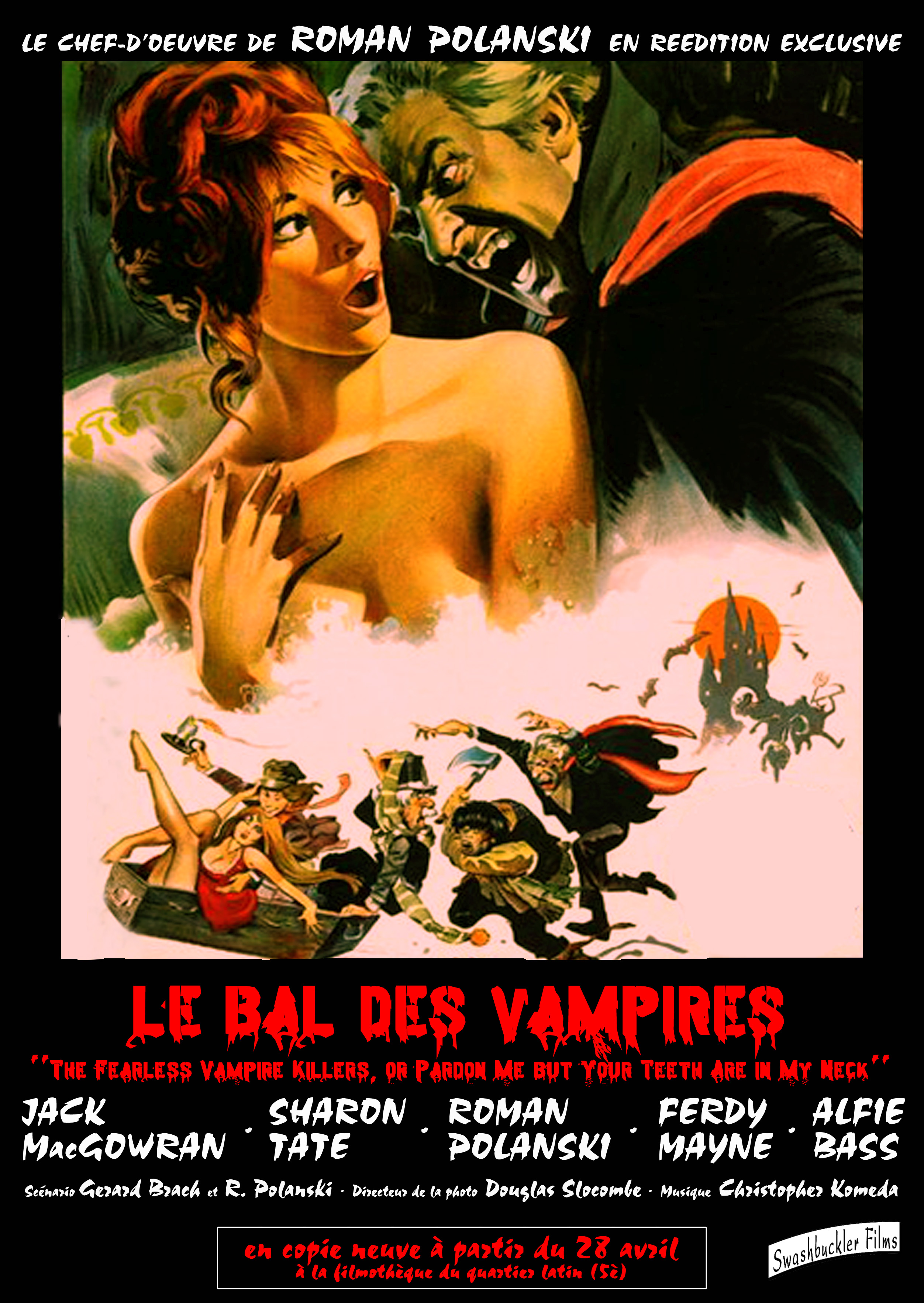 Le Bal des vampires streaming