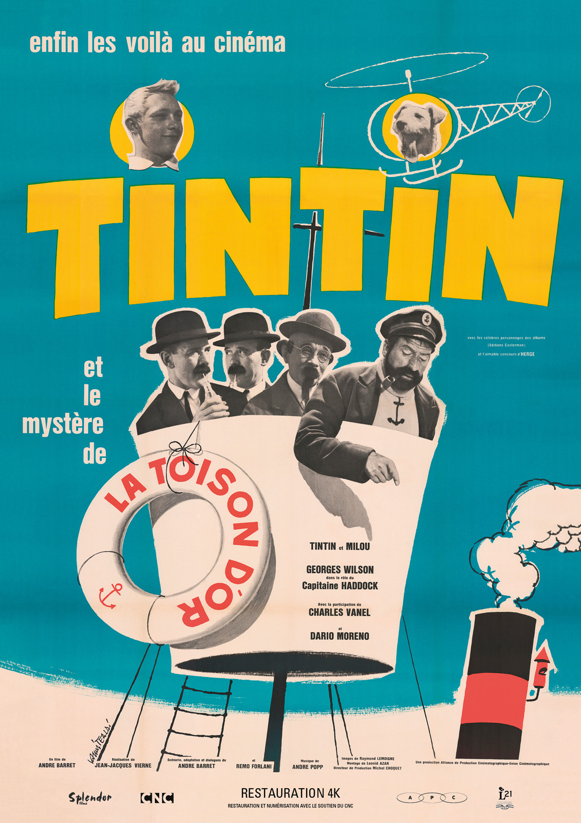 tintin et le myst re de la toison d 39 or film 1961 allocin. Black Bedroom Furniture Sets. Home Design Ideas
