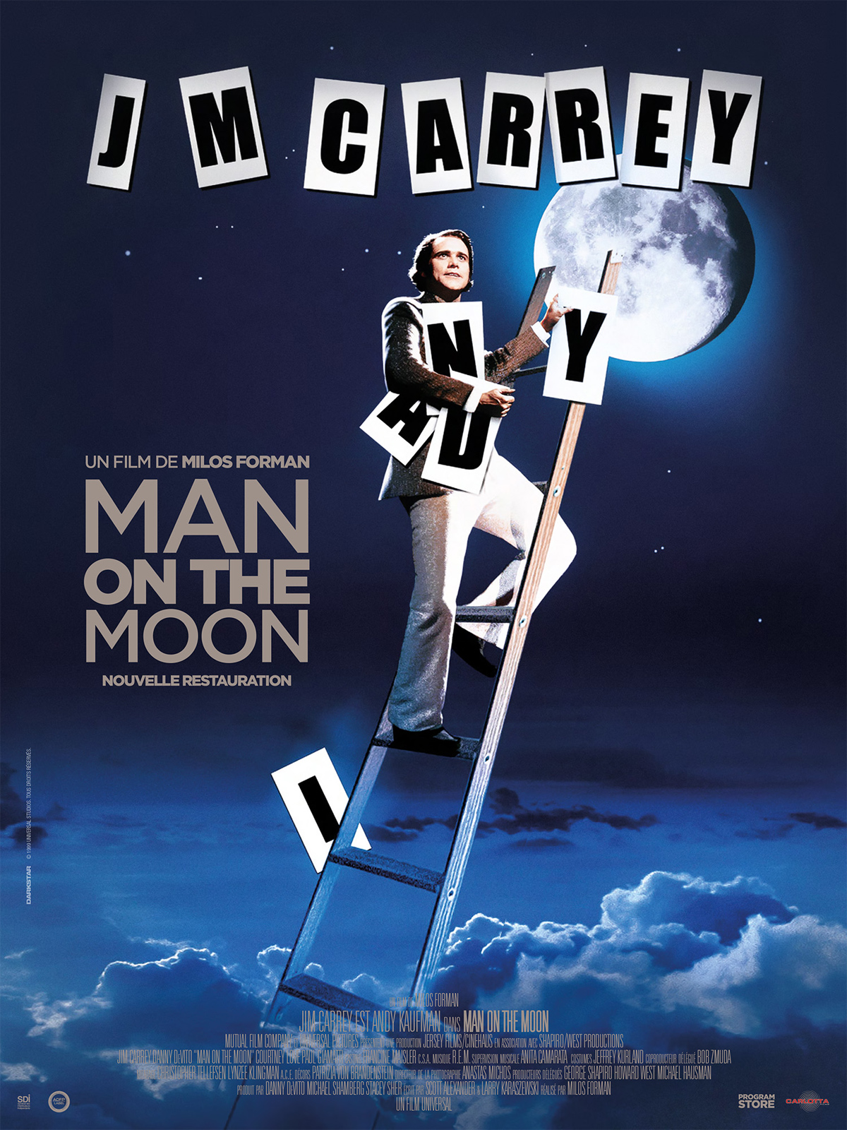 the man on the moon Amazoncom: man on the moon: jim carrey, danny devito, courtney love, paul giamatti, vincent schiavelli, peter bonerz, jerry lawler, gerry becker, leslie lyles .