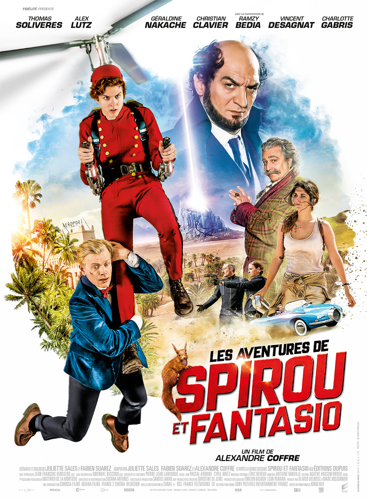 les aventures de spirou et fantasio film 2018 allocin. Black Bedroom Furniture Sets. Home Design Ideas