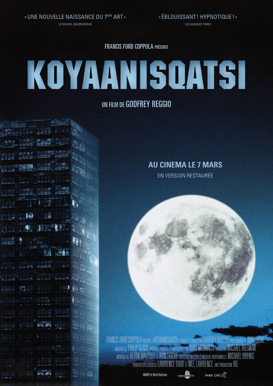 An analysis of koyaanisqatsi by godfrey reggio