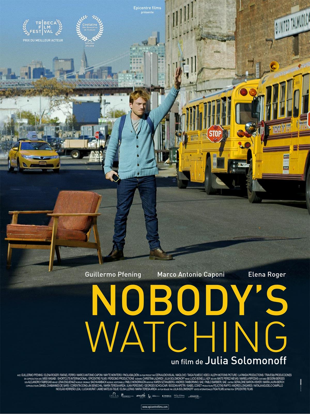 Affiche du film Nobody's Watching