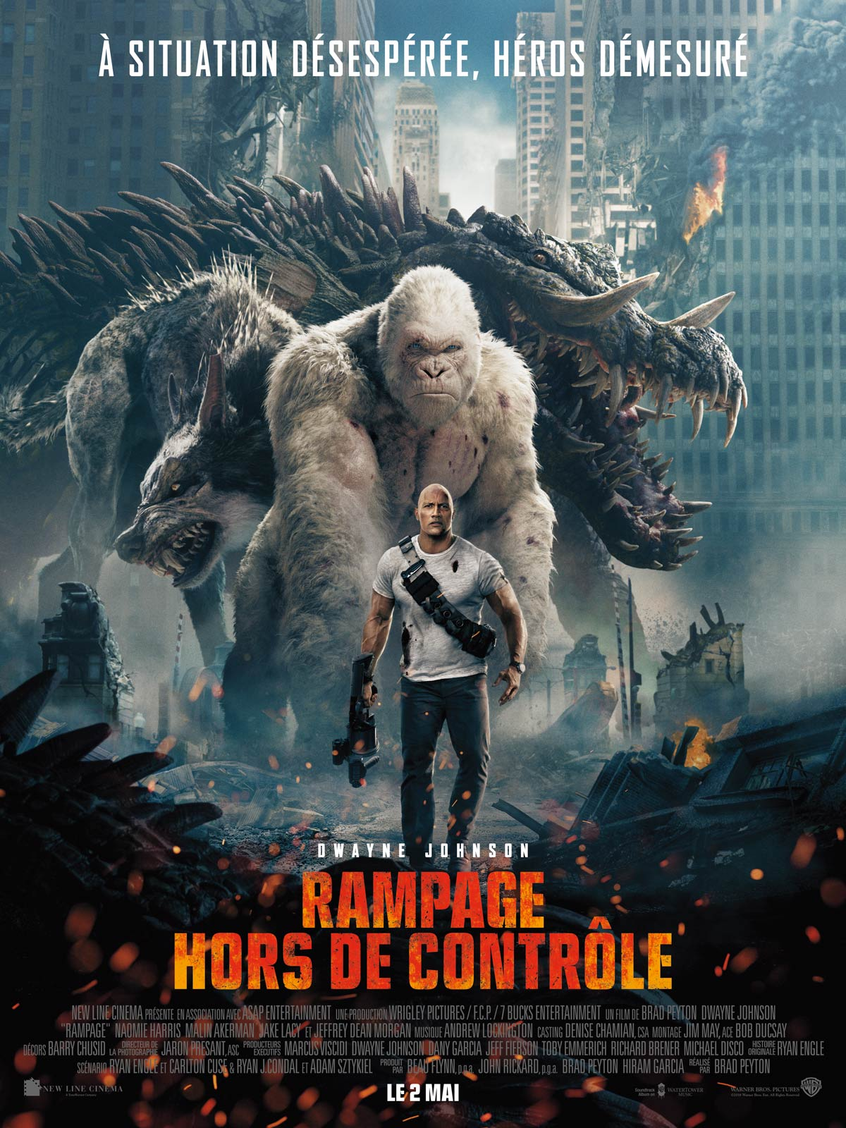 Rampage - Hors de contrôle streaming