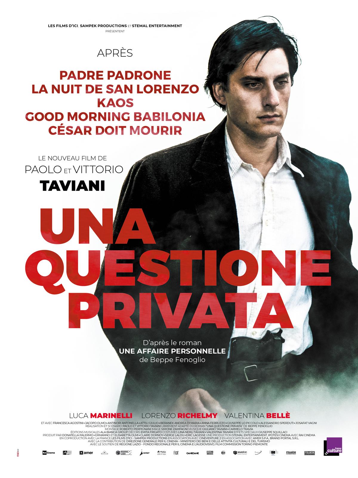 Image du film Una Questione Privata