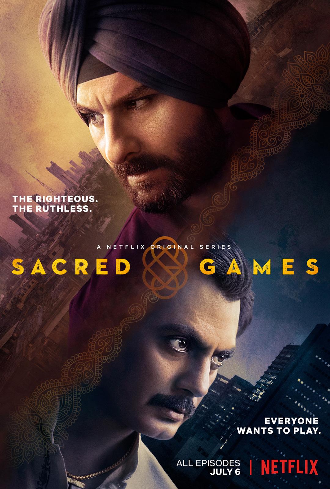 Netflix sacred games nawazuddin siddiqui amp rajshri deshpande - 3 7
