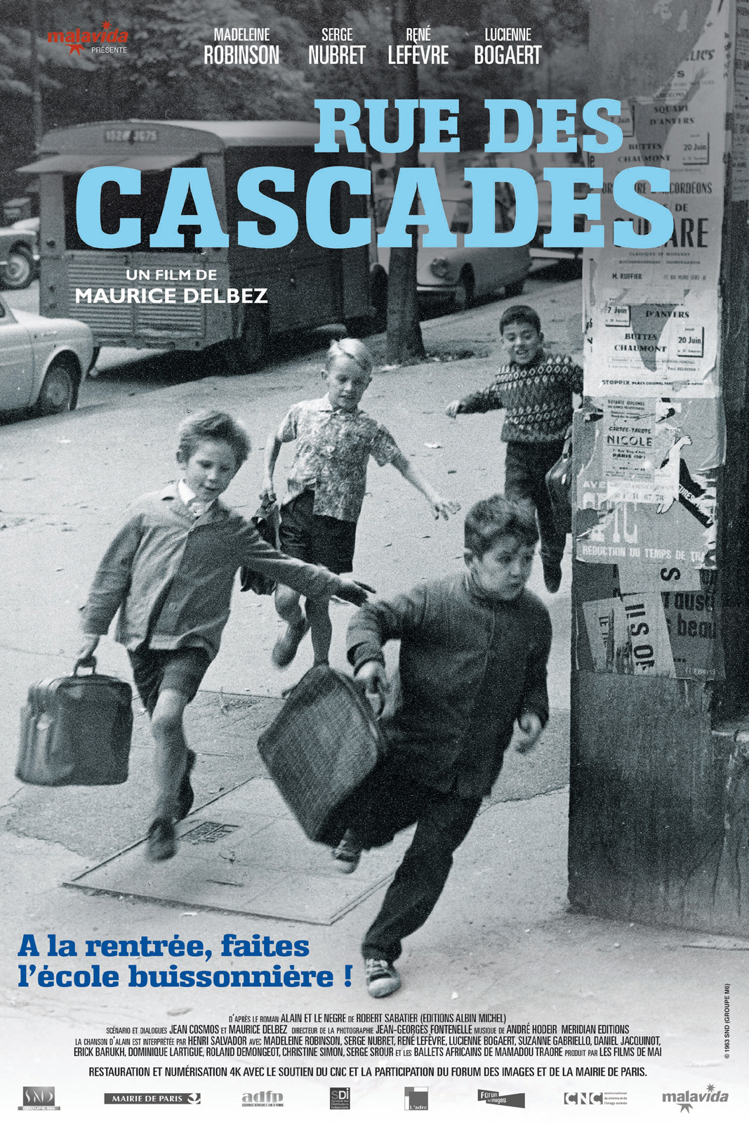 rue des cascades film 1963 allocin. Black Bedroom Furniture Sets. Home Design Ideas