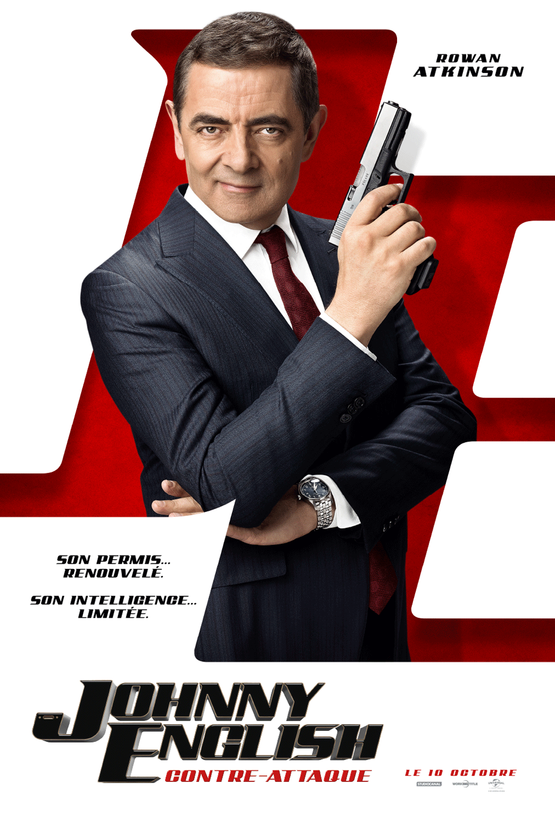 Johnny English contre-attaque streaming