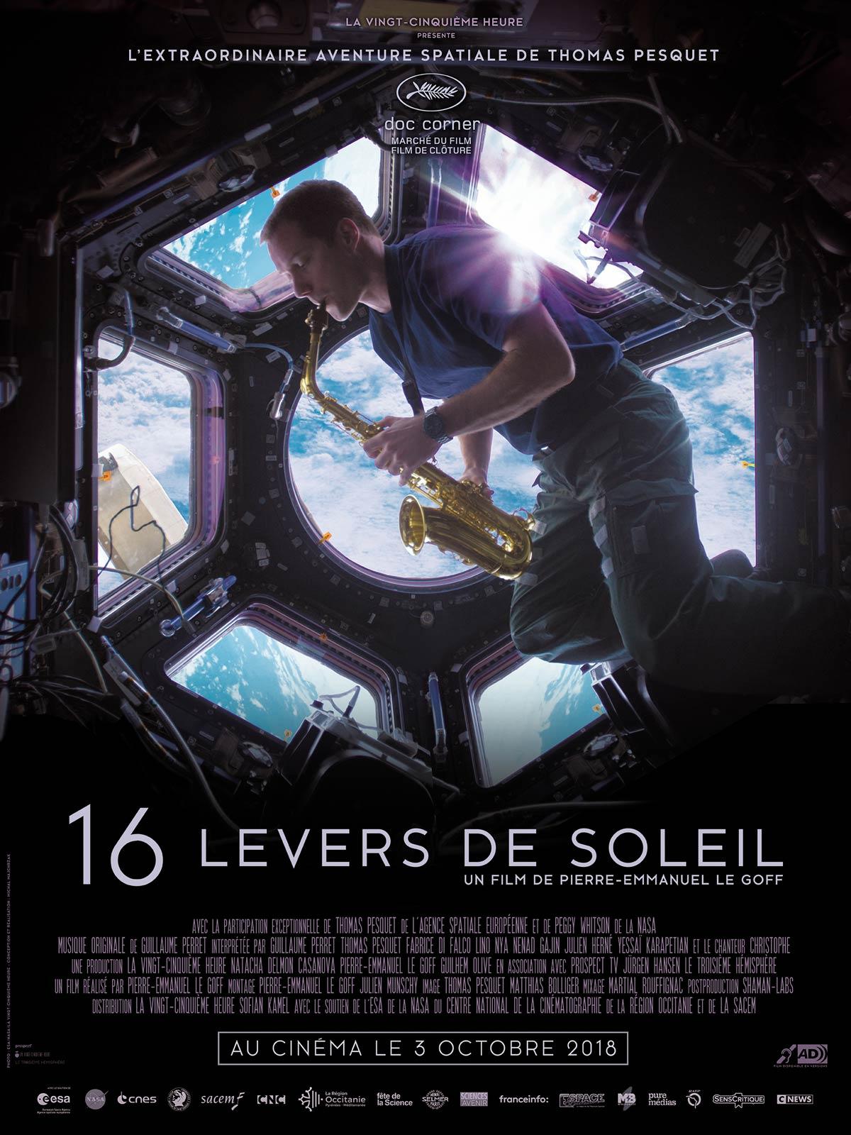 16 LEVERS DE SOLEIL