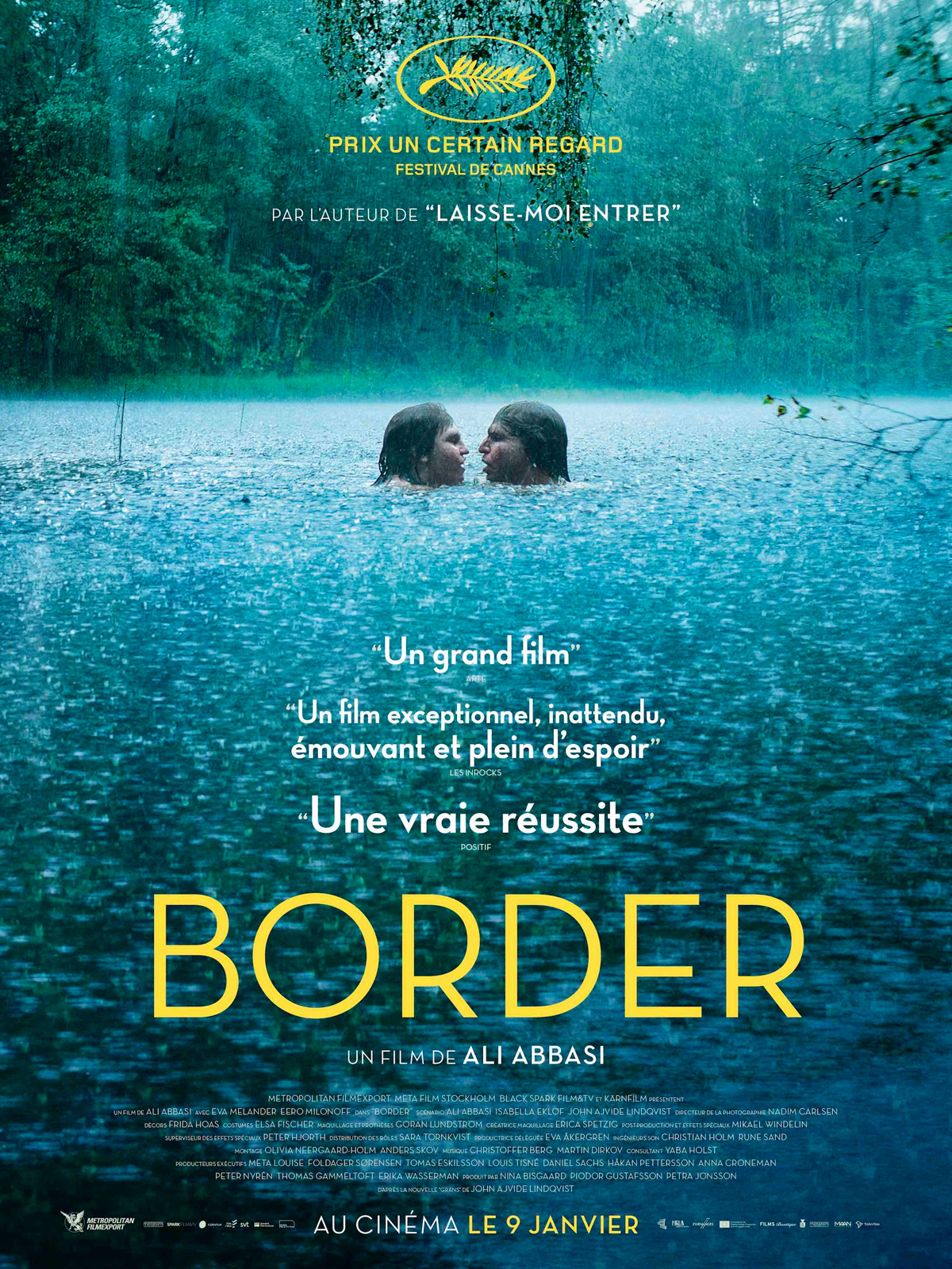 Border streaming