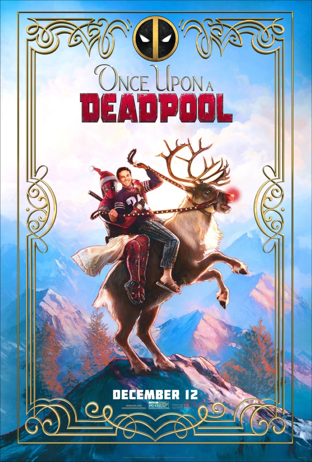 Once Upon a Deadpool streaming