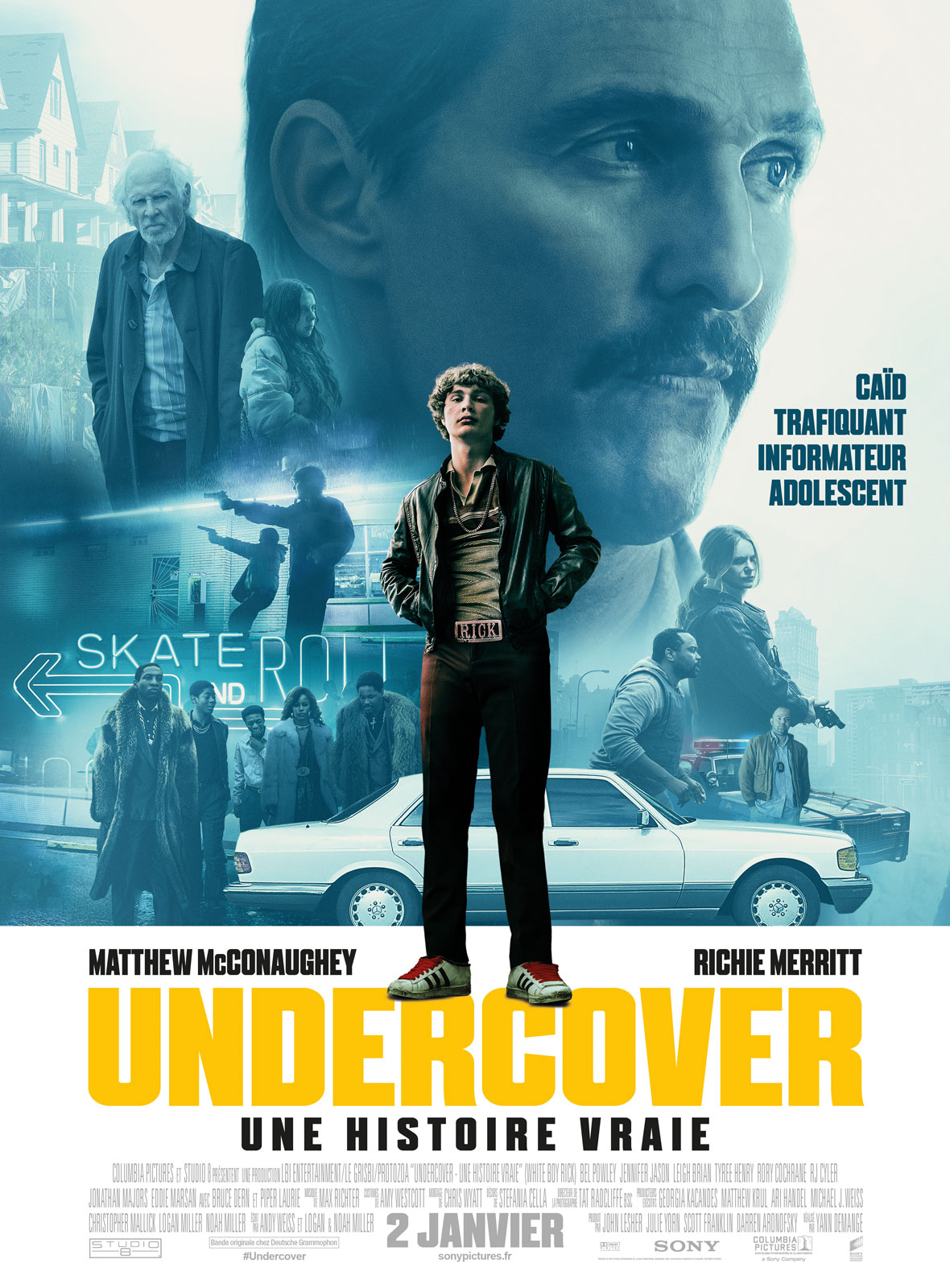 Undercover - Une histoire vraie streaming