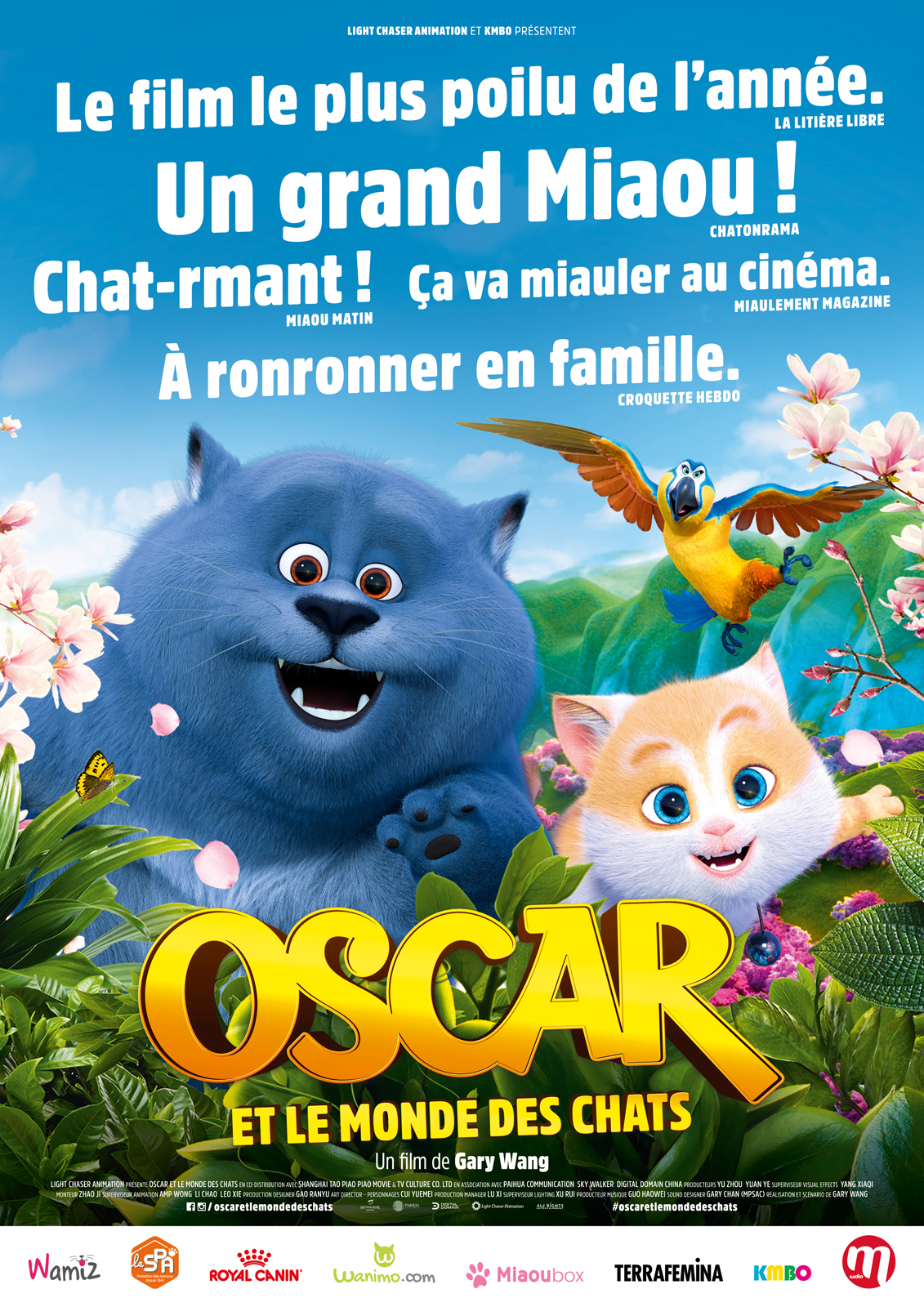 Oscar et le monde des chats - film 2018 streaming