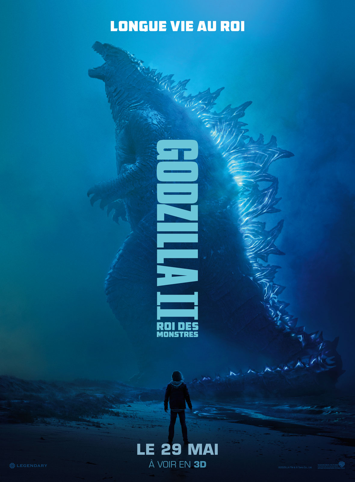 Affiche du film Godzilla II Roi des Monstres