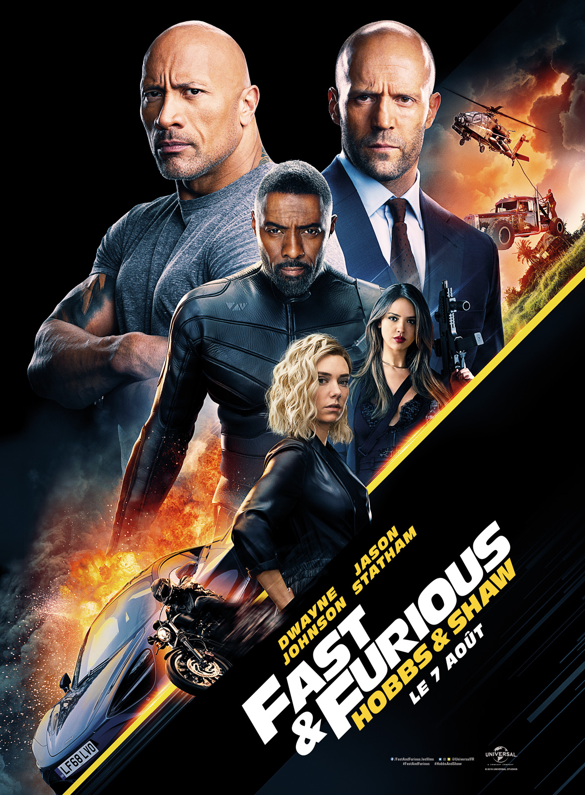 Fast & Furious : Hobbs & Shaw streaming