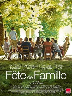 Affiche film FETE DE FAMILLE