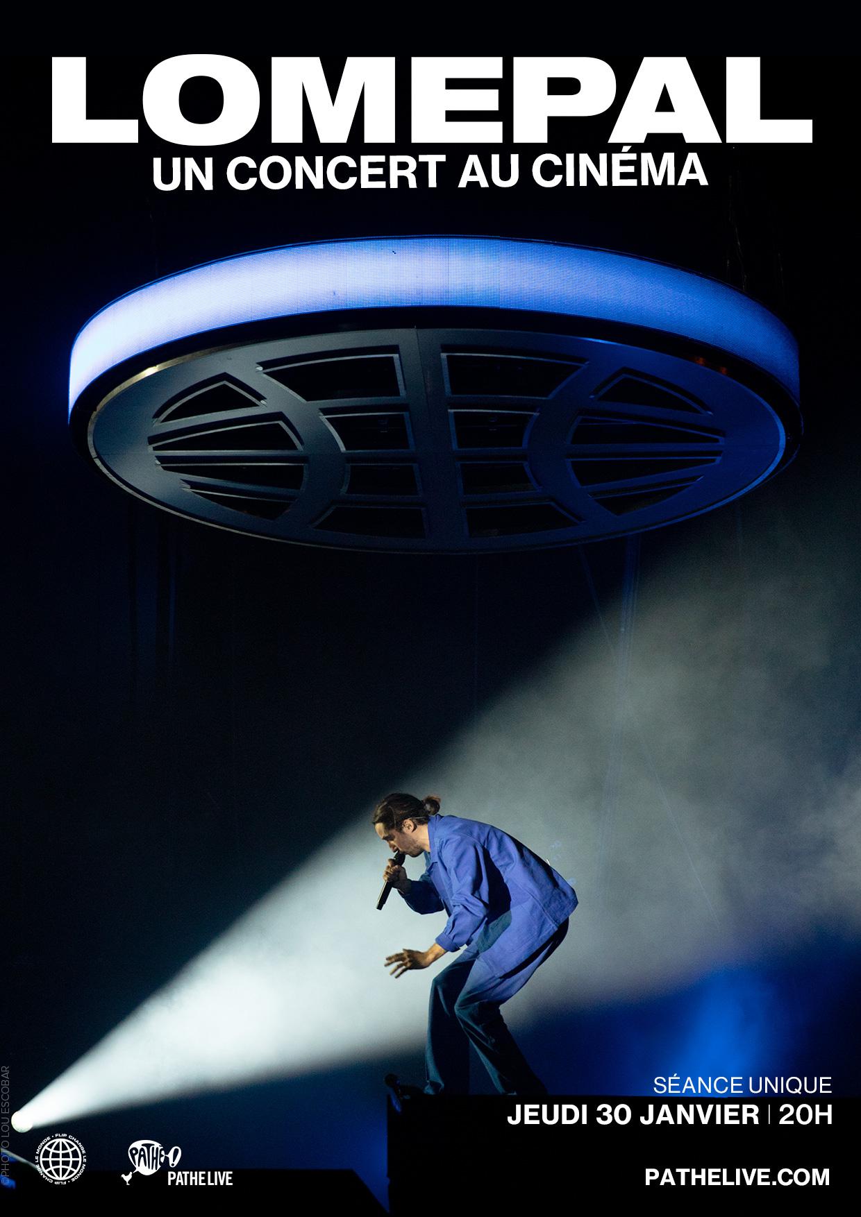 Image du film Lomepal, un concert au cinéma