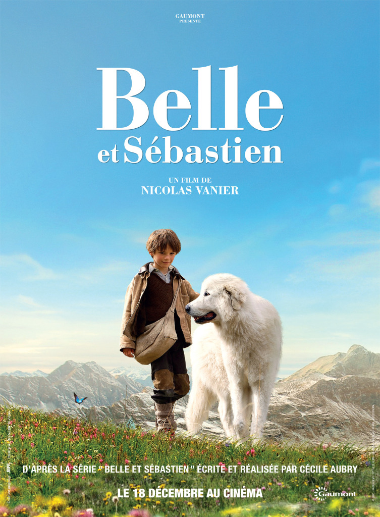 affiche du film belle et s bastien affiche 2 sur 2 allocin. Black Bedroom Furniture Sets. Home Design Ideas