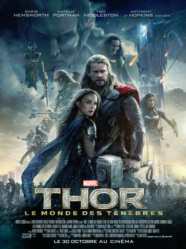 affiche du film thor le monde des t n bres affiche 15. Black Bedroom Furniture Sets. Home Design Ideas