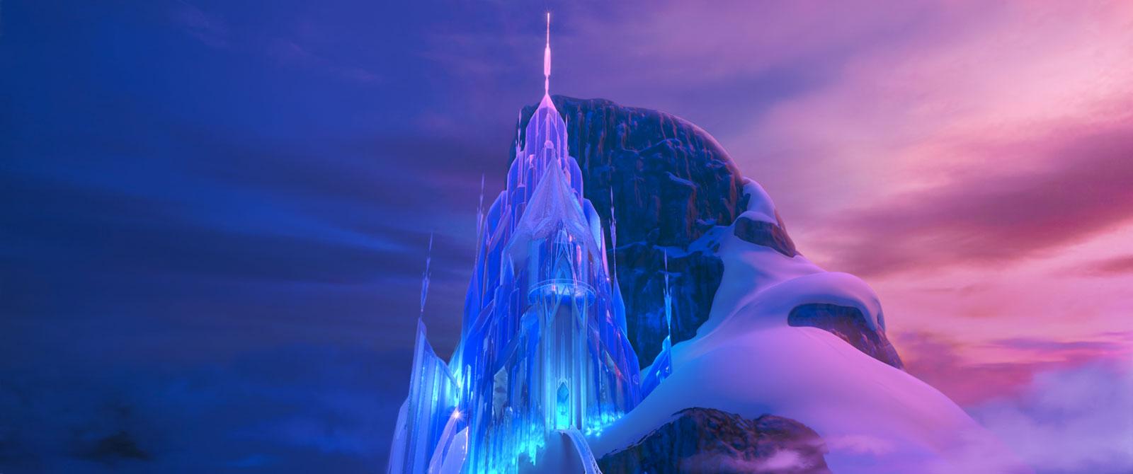 Photo du film la reine des neiges photo 10 sur 30 allocin - Chateau elsa reine des neiges ...