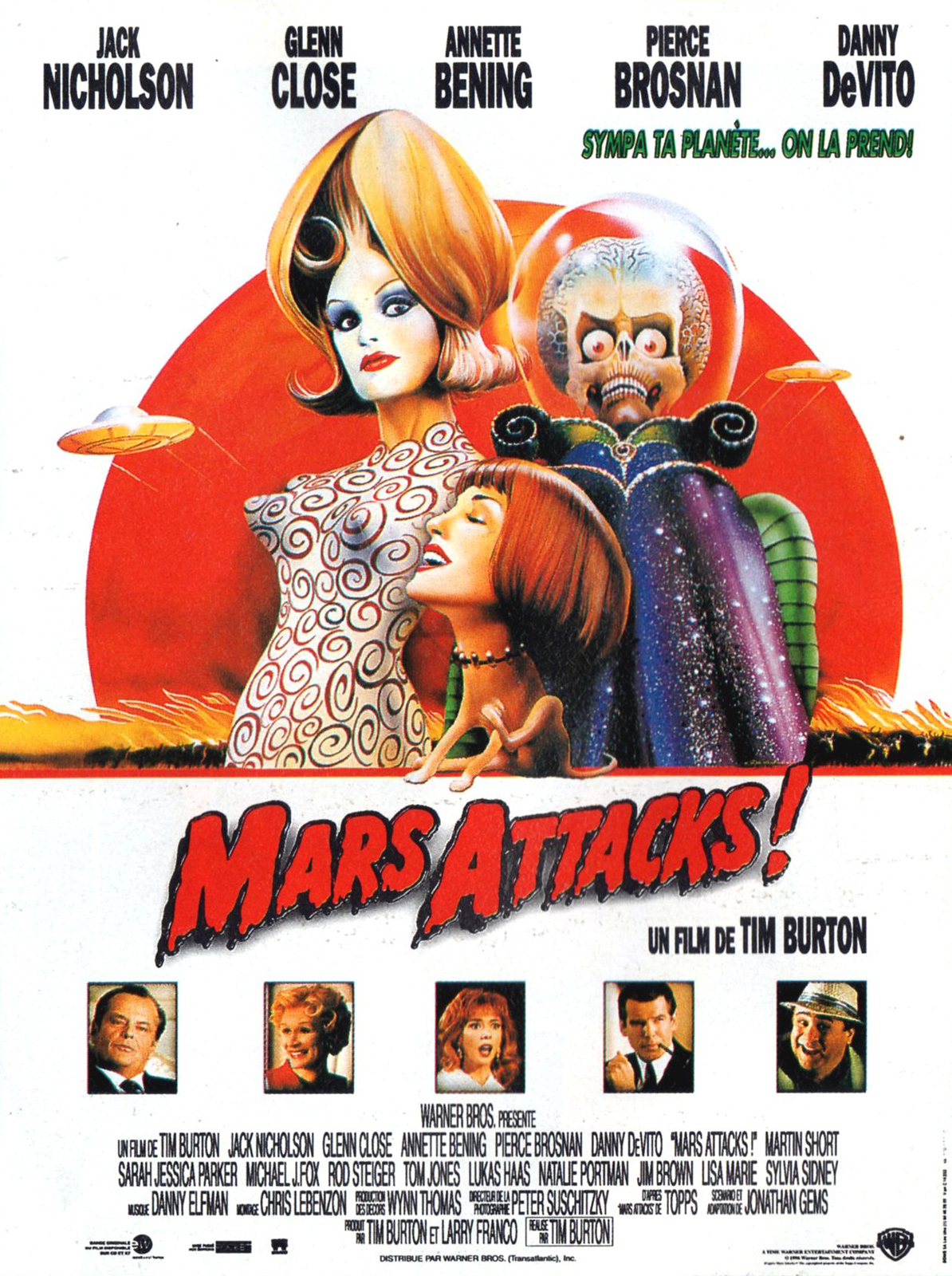Image du film Mars Attacks!