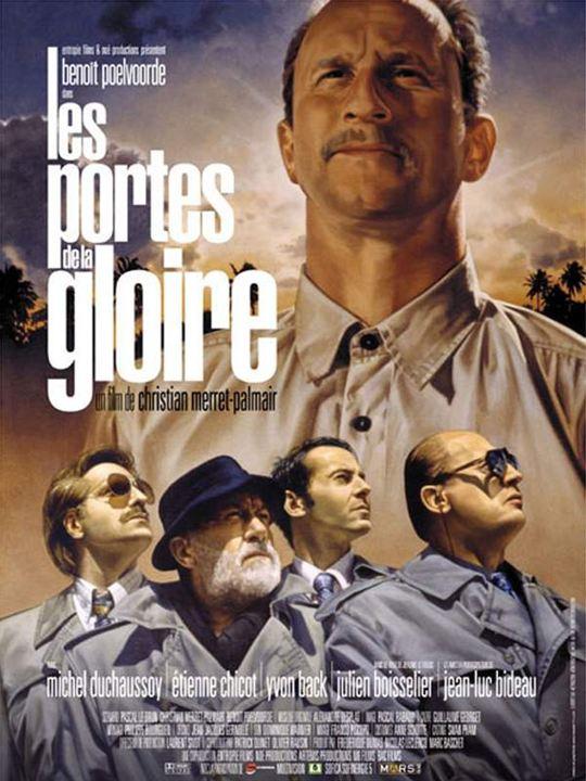 Les Portes de la gloire : Affiche Benoît Poelvoorde, Christian Merret-Palmair