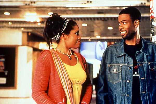 Les Pieds sur terre : Photo Chris Rock, Regina King